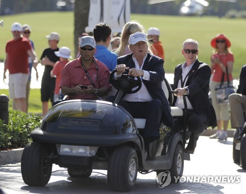 Golfing with Trump