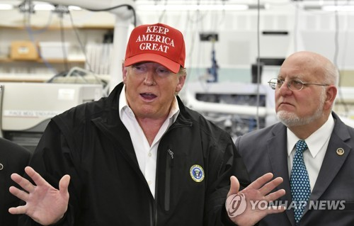 Trump says U.S. is working closely with S. Korea on virus