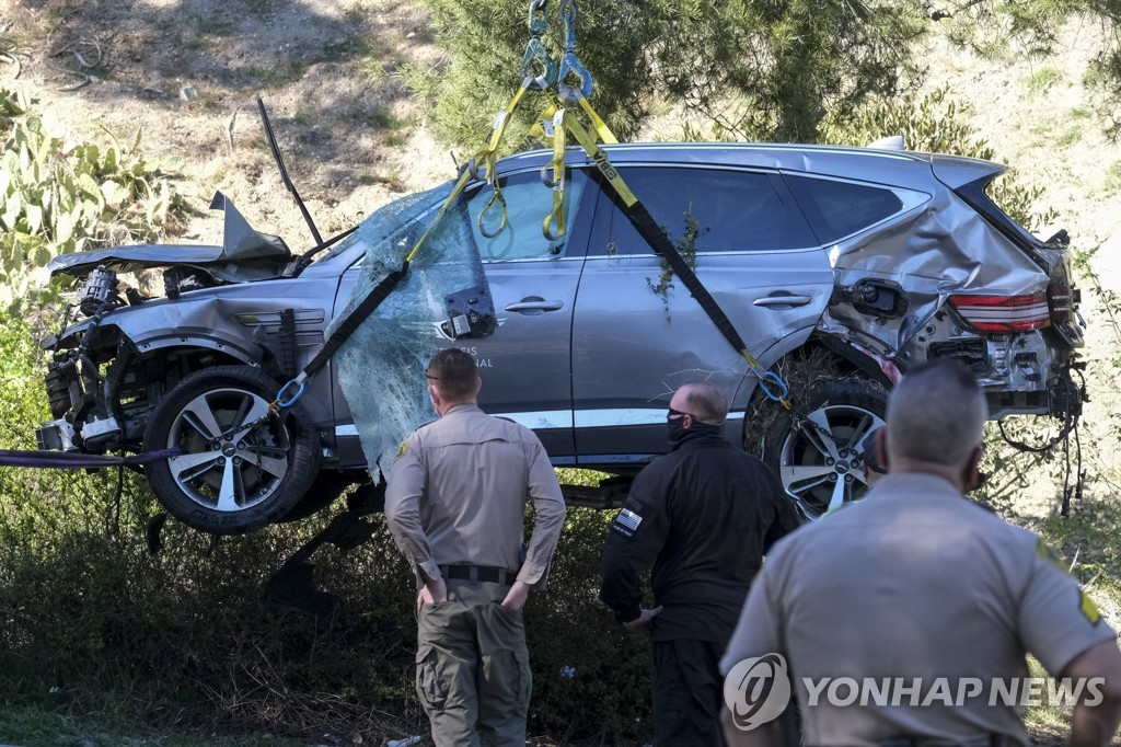 Tiger Woods Vehicle Crash Golf