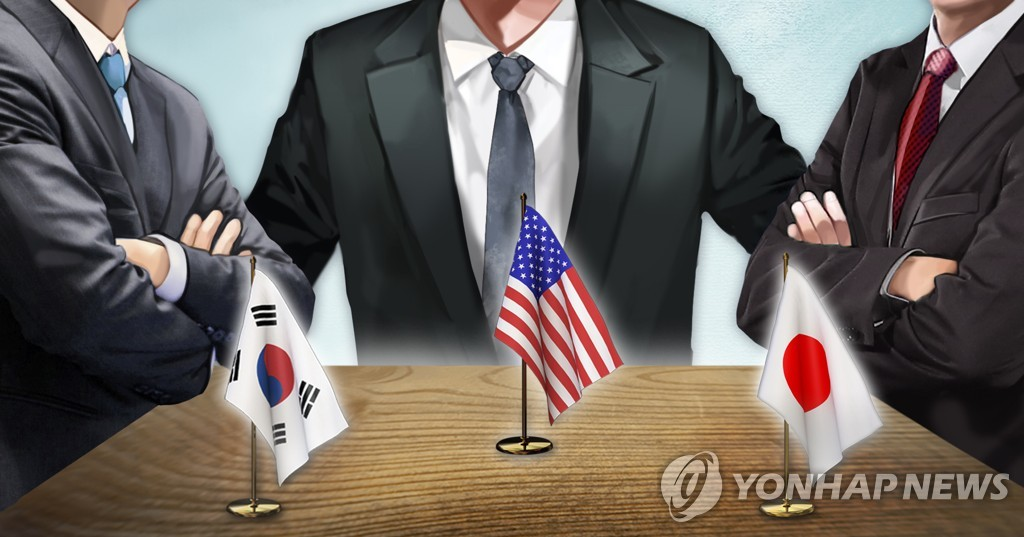 (LEAD) (News Focus) Termination of military pact with Japan raises concerns over S. Korea-U.S. alliance - 1