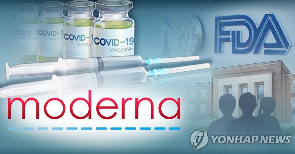 미국 식품의약국(FDA), 모더나 코로나19 백신 승인 심사 (PG)