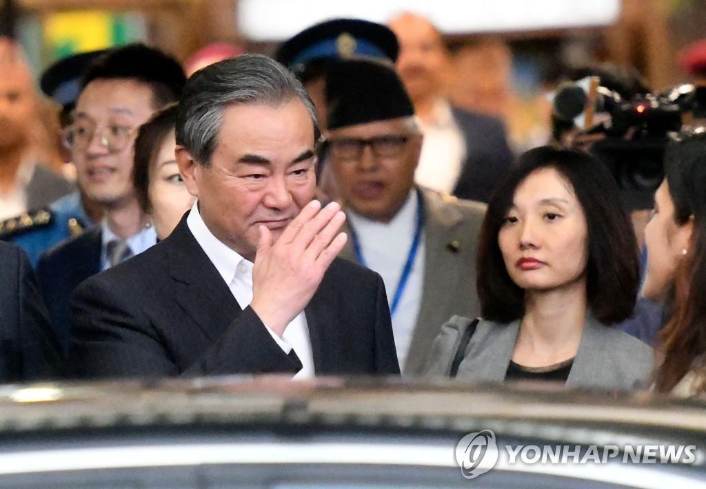 왕이, 중국 대표단 이끌고 이달 유엔총회 참석 | 연합뉴스