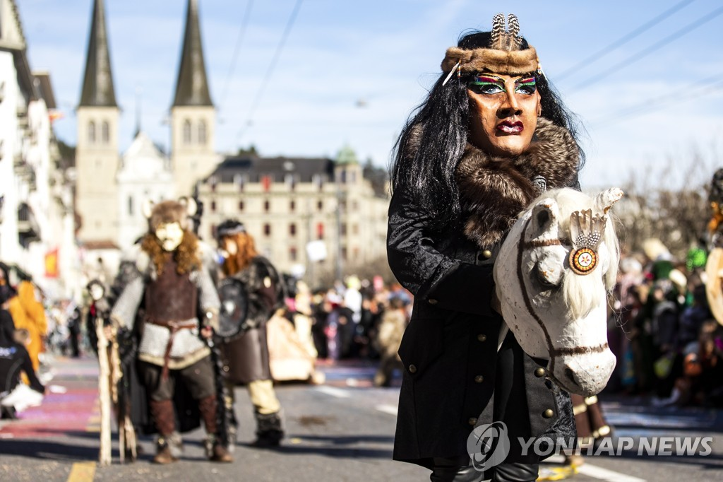 SWITZERLAND LUCERNE CARNIVAL