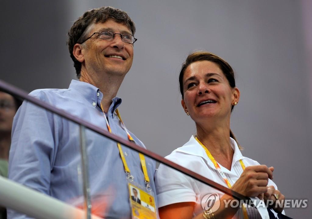 빌 게이츠(왼쪽)와 멀린다[로이터=연합뉴스 자료사진]