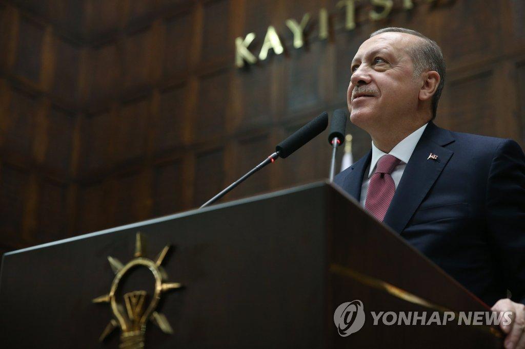 """터키 에르도안 """"내년에 이스탄불운하 입찰 부쳐 사업 시작"""""""
