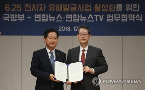 Yonhap-defense ministry's MOU on war remains