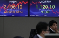 (LEAD) Seoul shares end higher on stimulus hope in China