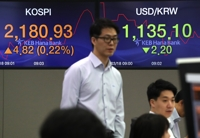 Seoul stocks end higher after choppy trading