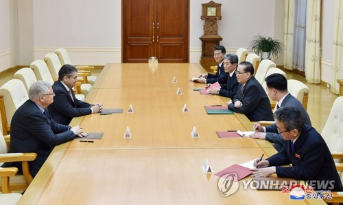 German legislator visits N. Korea