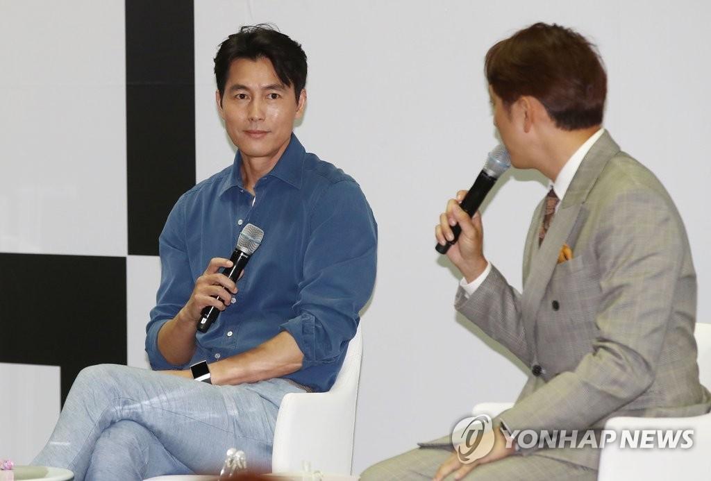 Actor Jung Woo-sung | Yonhap News Agency