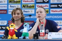 (Gwangju Swimmer) U.S. swimmer takes jab at Chinese star under doping allegations