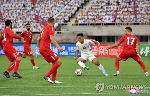 N. Korea beat Lebanon 2-0 in Asian qualifier for World Cup