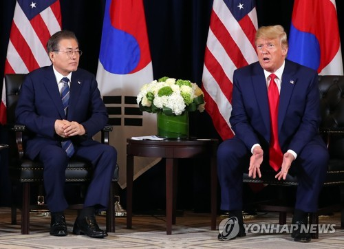 Moon, Trump seen solidifying momentum for N.K. dialogue