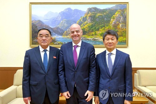 Inter-Korean football cooperation