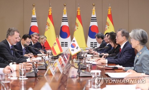 S. Korea, Spain to deepen ties on tourism, construction in third nations