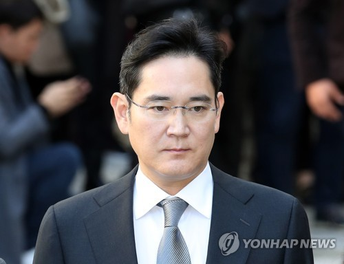 (LEAD) L'héritier de Samsung, Lee Jae-yong, inculpé sans détention pour une affaire de succession