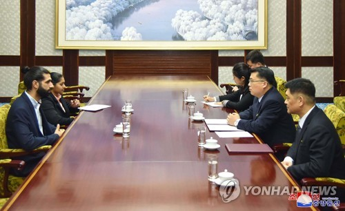 N. Korean, Russian youth leaders meet