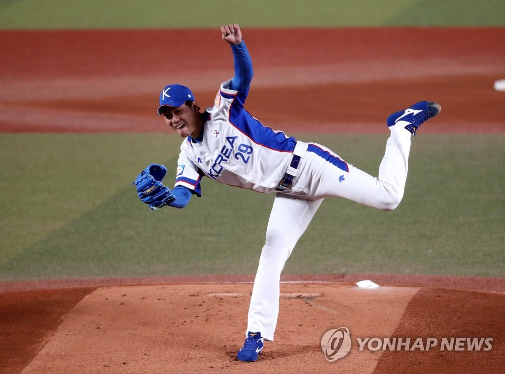 MLB scouts see posted LHP Kim Kwang-hyun as middle-of-rotation starter