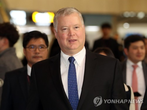 U.S. nuke envoy arrives in Seoul after N.K. spurns possibility of talks