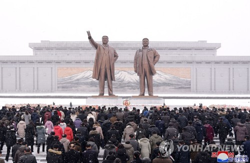 NK marks late leader's birthday