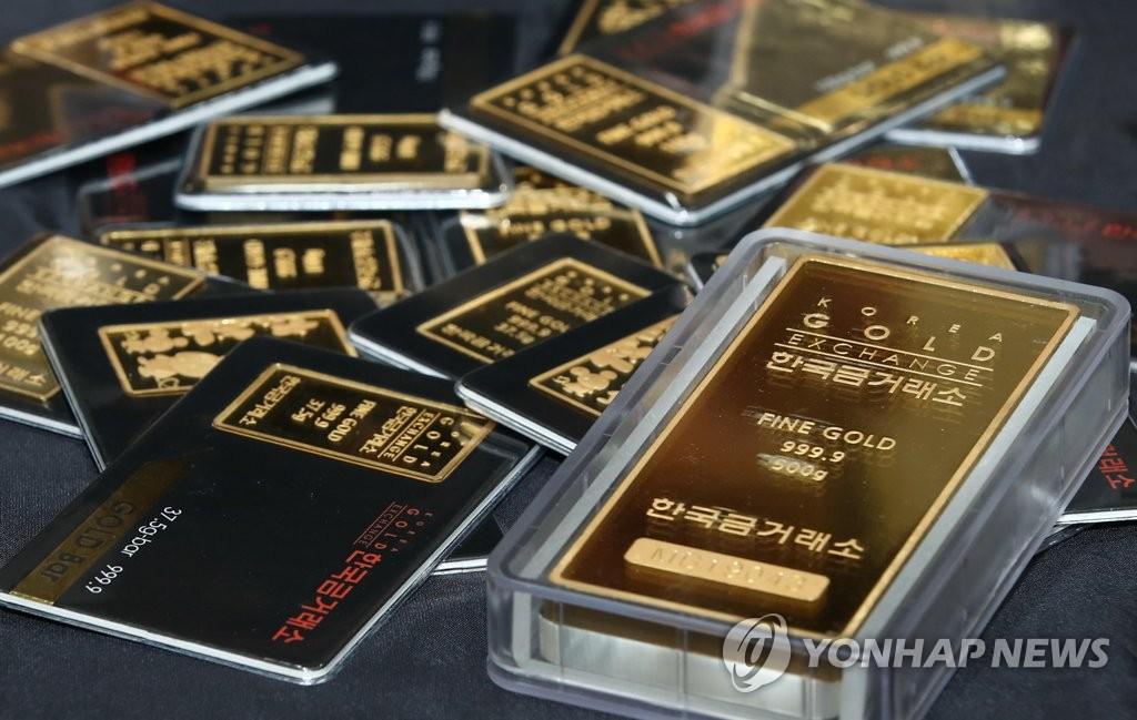코로나19에 금 투자자 웃었다…올해 수익률 예금의 29배 | 연합뉴스