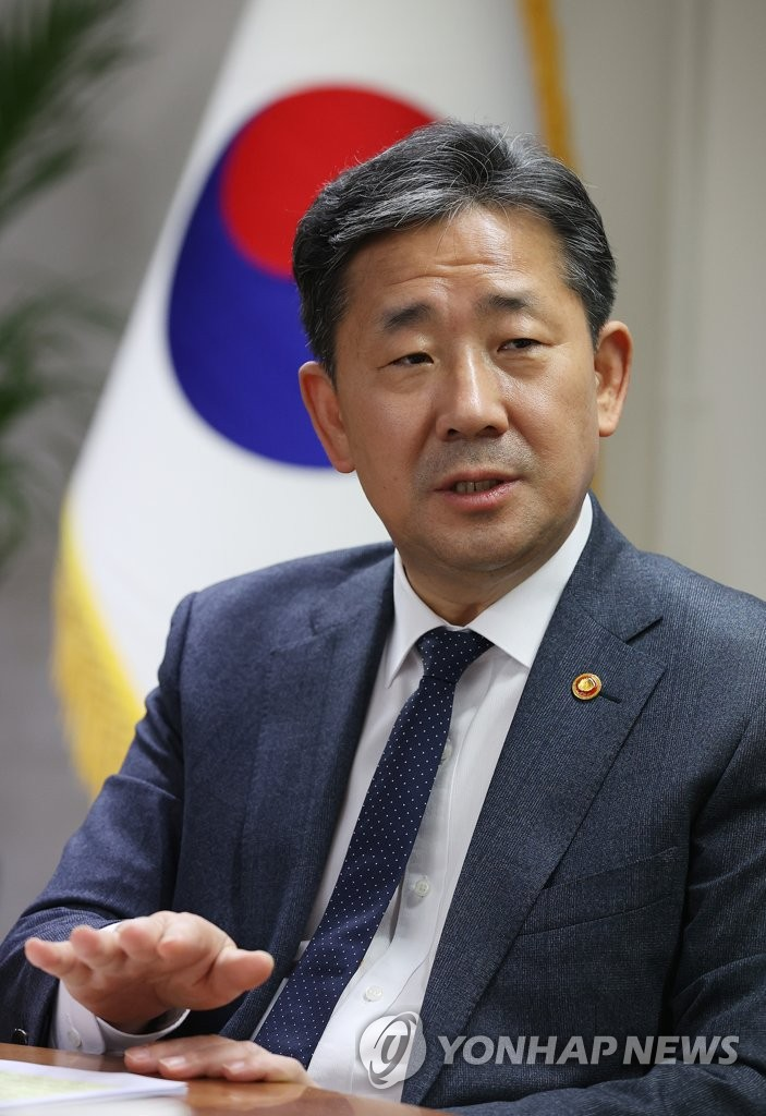 Culture minister's interview marking 1st anniv. of taking office