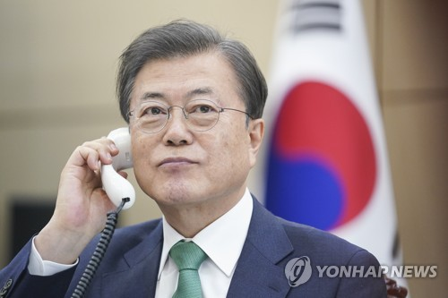 S Korea-Denmark phone talks on coronavirus