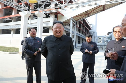 N.K. leader reemerges after 20-day absence