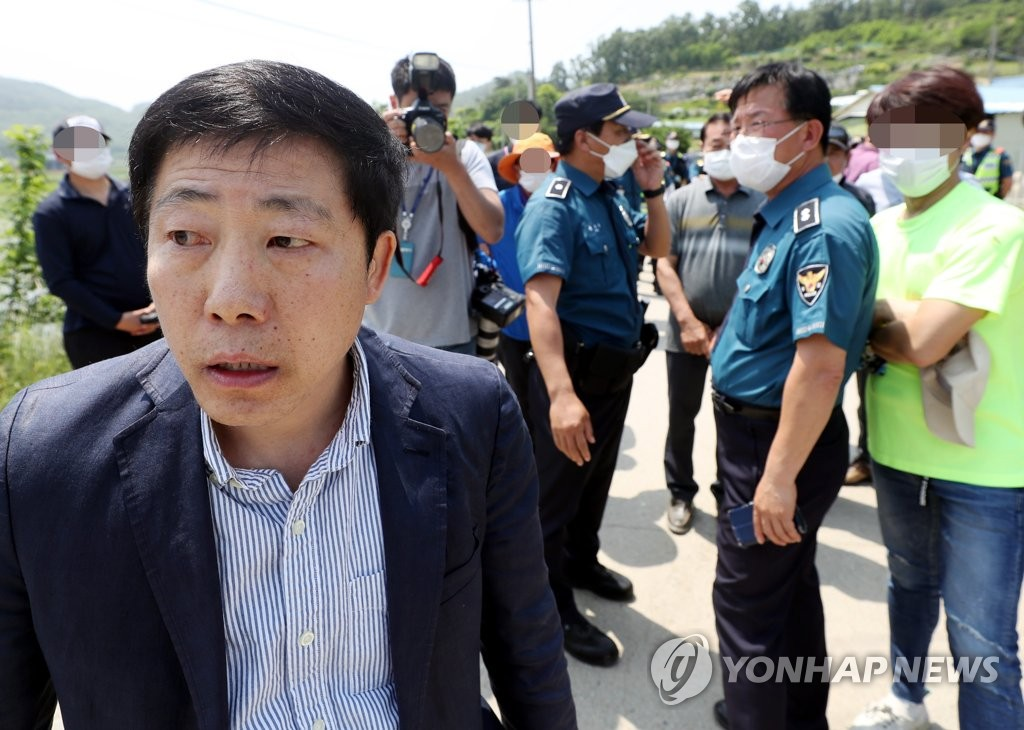 Park Sang-hak, the head of Fighters for a Free North Korea (Yonhap)