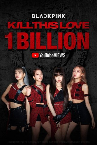 BLACKPINK's 'KiIl This Love' surpasses 1 billion views