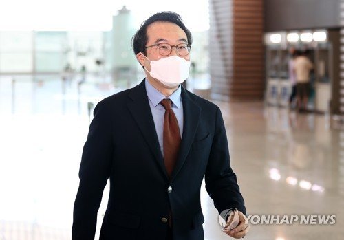 South Korea's nuclear envoy Lee departs for U.S.