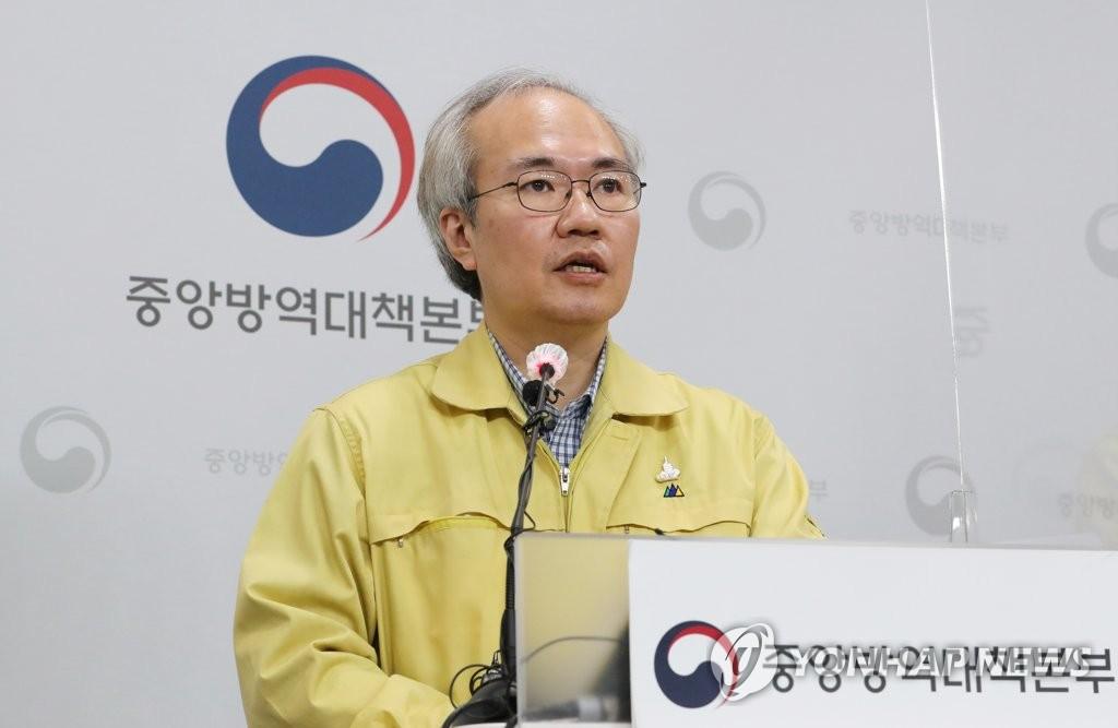 권준욱 중앙방역대책본부 제2부본부장(국립보건연구원장)