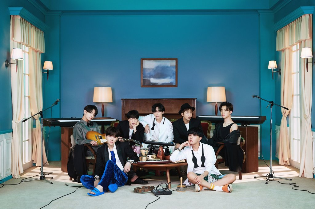 "This photo, provided by Big Hit Entertainment, shows a concept photo for BTS' latest album ""BE."" (PHOTO NOT FOR SALE) (Yonhap)"