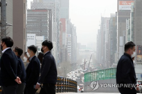 (3rd LD) S. Korea suffocated by worst yellow dust storm in a decade