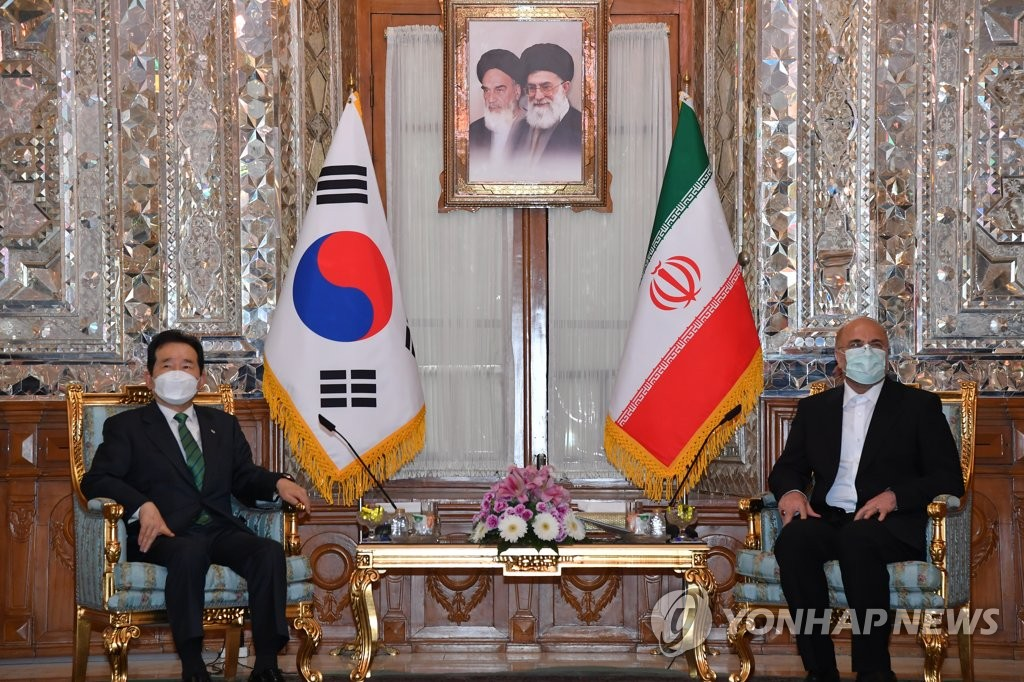 S. Korean PM meets Iranian parliamentary leader