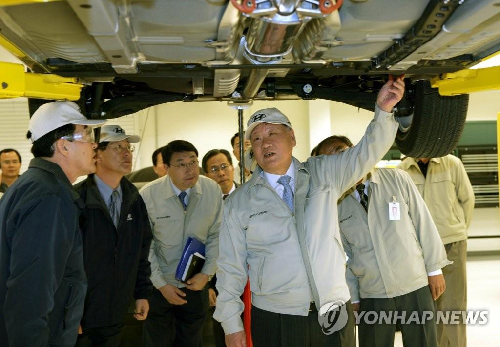 정몽구 명예회장, 한국인 최초 '자동차 명예의 전당' 올랐다